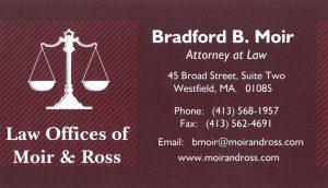 Attorney Bradford B Moir